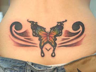 Lower Back Tattoos With Image Lower Back Butterfly Tattoo Designs For Female Tattoo Picture 2