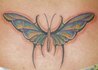Lower Back Tattoos With Image Lower Back Butterfly Tattoo Designs For Female Tattoo Picture 1