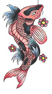 Beautiful Koi Fish Tattoo Designs 3