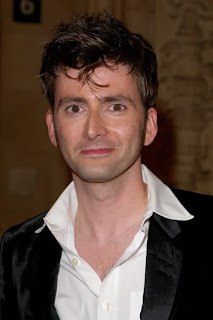 David Tennant Mussed Hairstyle