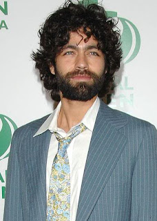 Adrian Grenier Full Beard Hairstyle