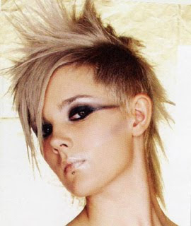Female With Punk Hairstyles Picture 2