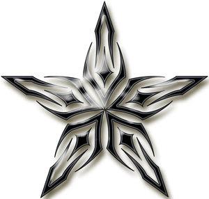 Star Tattoo Design on 3d Star Tattoo Design New Pictures Designs