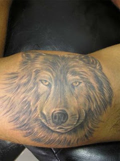Wolf Tattoo Design 3