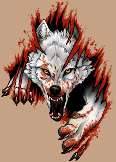 Wolf Tattoo Design 4