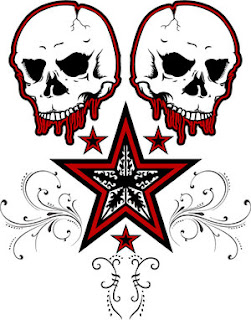 Skull Tattoo Design 6