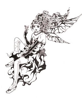 Fairy Tattoo Design 6