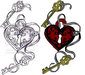 Heart Tattoo Design 3