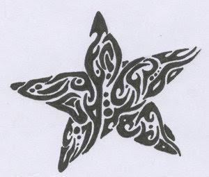 Star Tattoo Design 7
