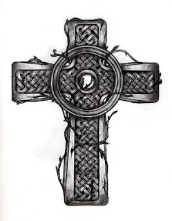 Beautiful Art of Tattoos Design With Image Celtic Cross Tattoo Design Picture 5