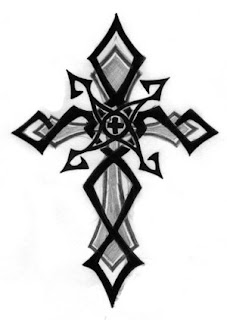 Beautiful Art of Tattoos Design With Image Tribal Cross Tattoo Design Picture 5