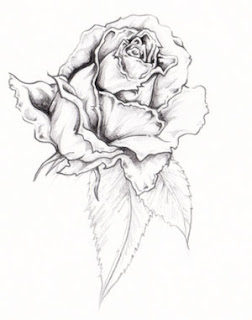 Beautiful Art of Tattoos Design With Image Flower Rose Tattoo Design Picture 1