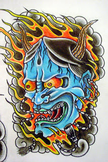 Japanese Tattoo With Image Japanese Mask Tattoos Especially Japanese Hannya Mask Tattoo Design 3