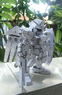 Gundam  Papercraft - Gundam RX-93 v