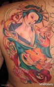 Japanese Tattoos With Image Japanese Geisha Tattoo Designs Especially Female Side Body Japanese Geisha Tattoo Picture 8
