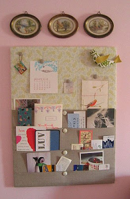 Finished craft cork boards california crafter for Magazine boards fabric