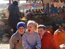 The Kids at the Pumpkin Patch