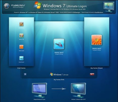 w7 Download Windows 7 Ultimate Logon Pack