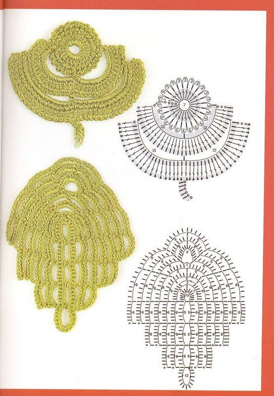 модели вязаных крючком платьев со схемами, вязанные одежды от мах мара.