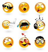 EMOTICONES EN VECTORES // DESCARGA · http://www.megaupload.com/?d=YHP1HQMR