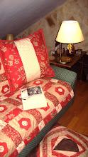 cálido sofá