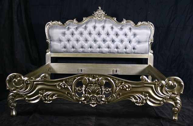 get out there and glamorize your living space - Vintage Bed Frame