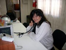 FERNANDA  SCHIAVONE,  productora de piso.
