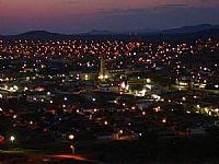 Vista noturna, Cajazeiras, por G. Lacerda