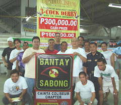 BANTAY-SABONG : CAINTA COLISEUM CHAPTER