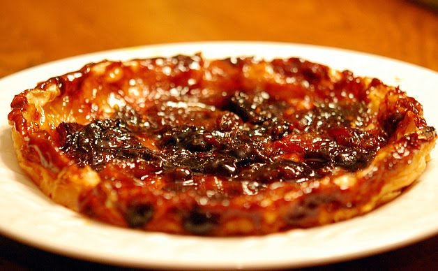 Tomato Tarte Tatin Definitely Belongs on the Dessert Table