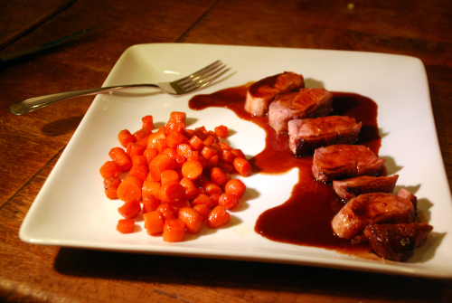 honey duck breast