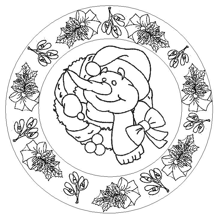 De tudo um pouco especial mandalas de natal - Mandalas cycle 3 ...