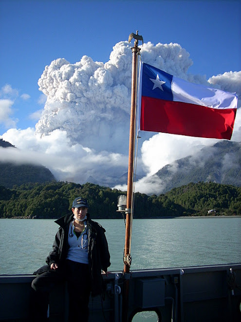 Erupción volcan Chaitén y PMD Videla