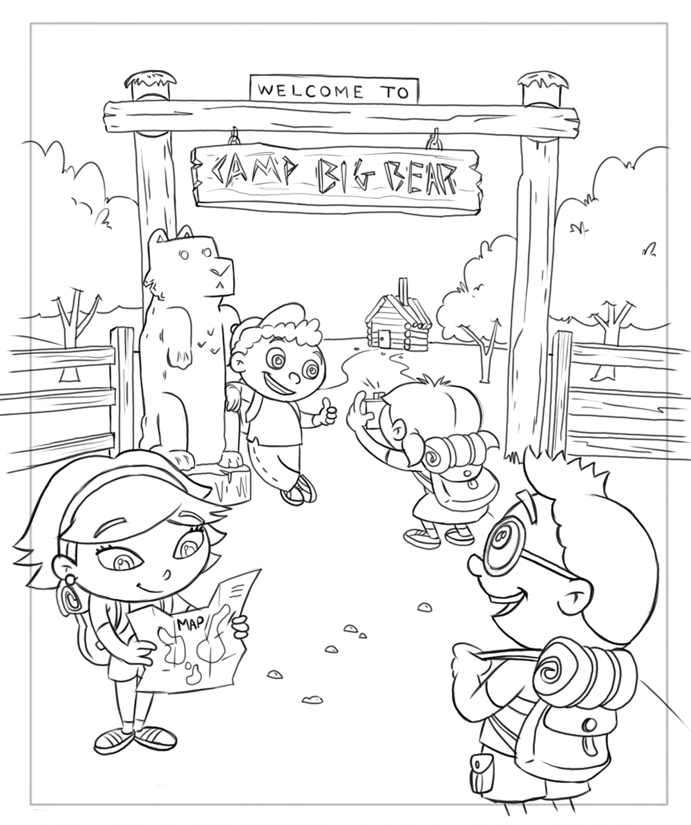 Frank Summers Animation Little Einsteins Coloring Book