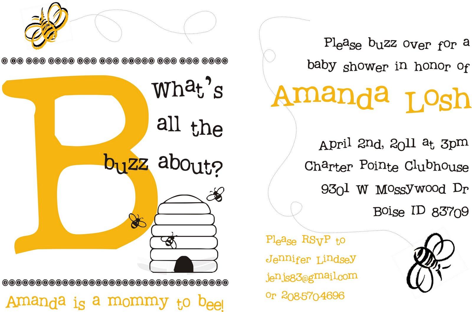 Wedding Themes - Wedding Style: Baby Shower - Bumble Bee Theme
