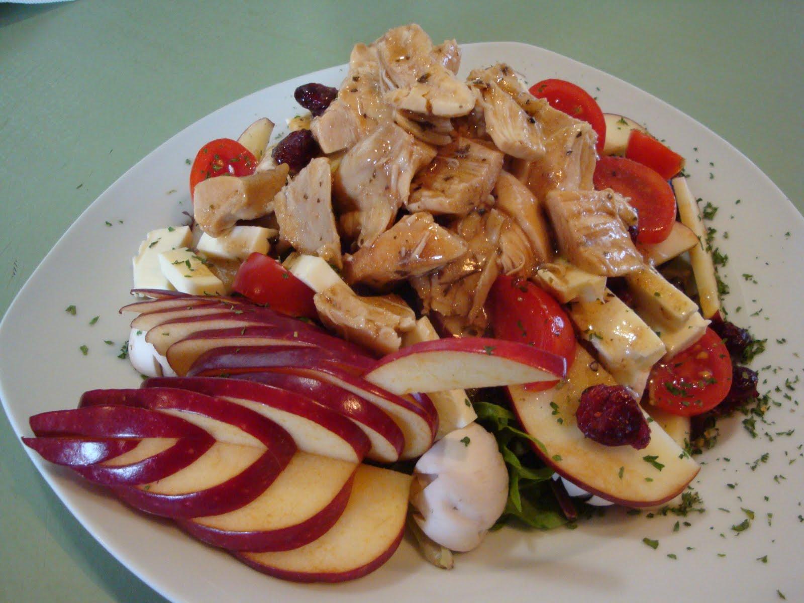 Le dentellier cuisinier salade ti de de poulet vinaigrette for Cuisinier 2010
