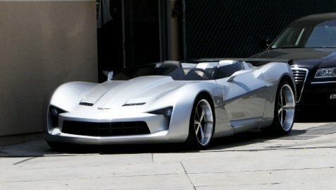 Corvette Stingray 2009 on Corvette Stingray Speedster Concept