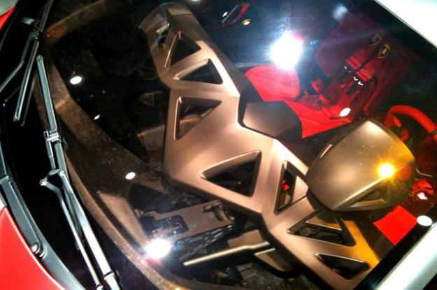 Lamborghini Sesto Elemento Interior. Lamborghini Sesto Elemento