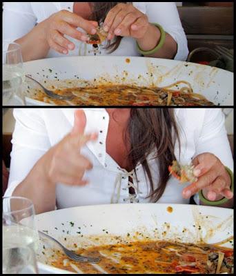 l'aragostina... con le mani