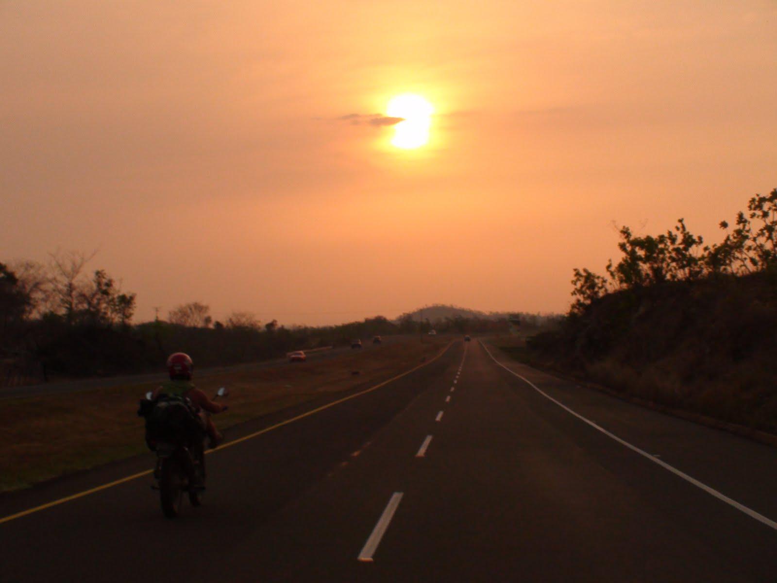 Biker Sunset - WallsKid