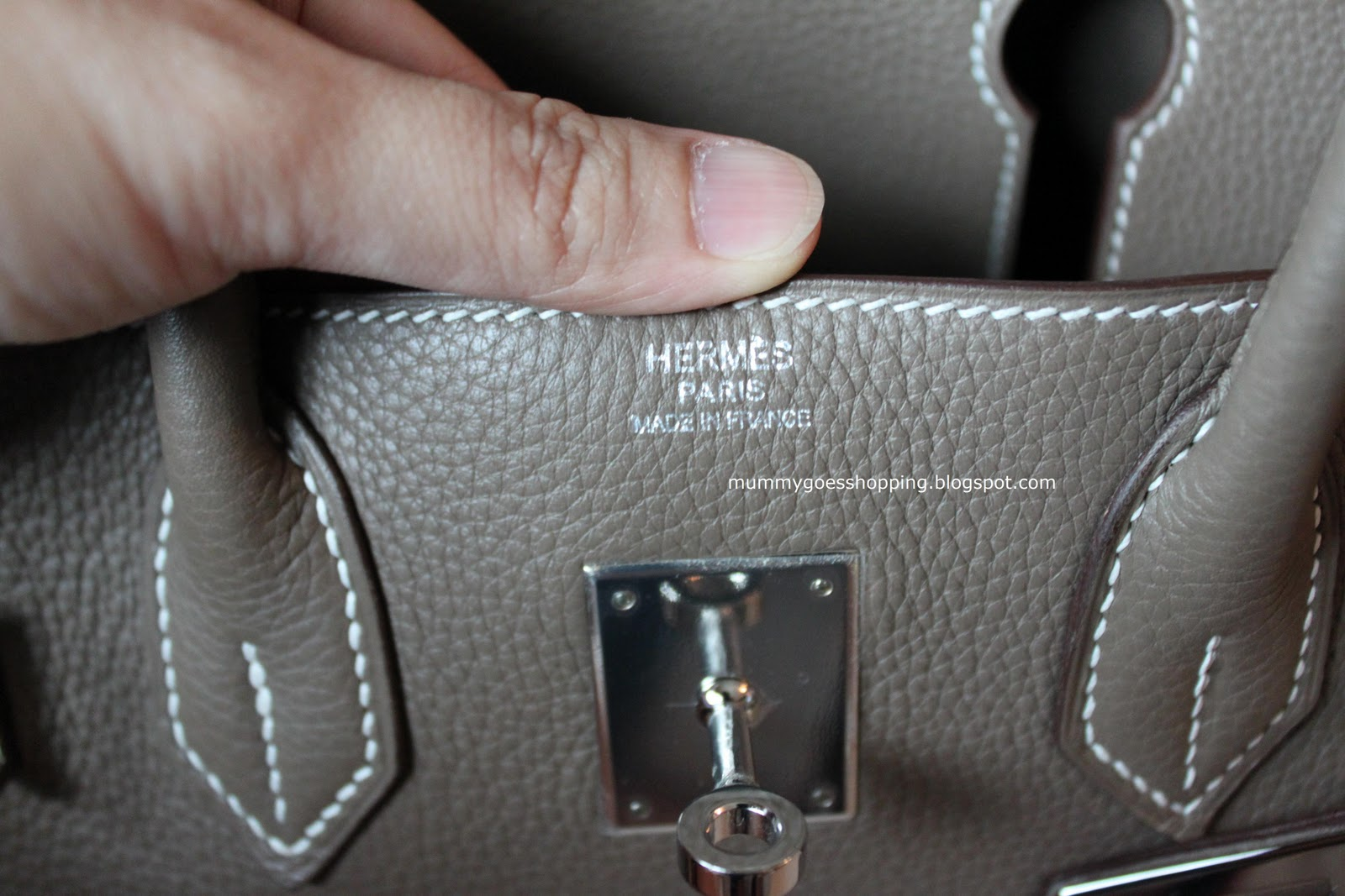 hermes replicas - SOLD! Hermes Birkin 30cm Etoupe Clemence with Palladium Hardware ...