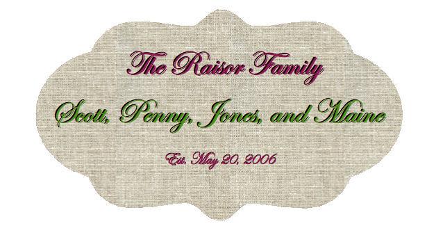 The Raisor Family