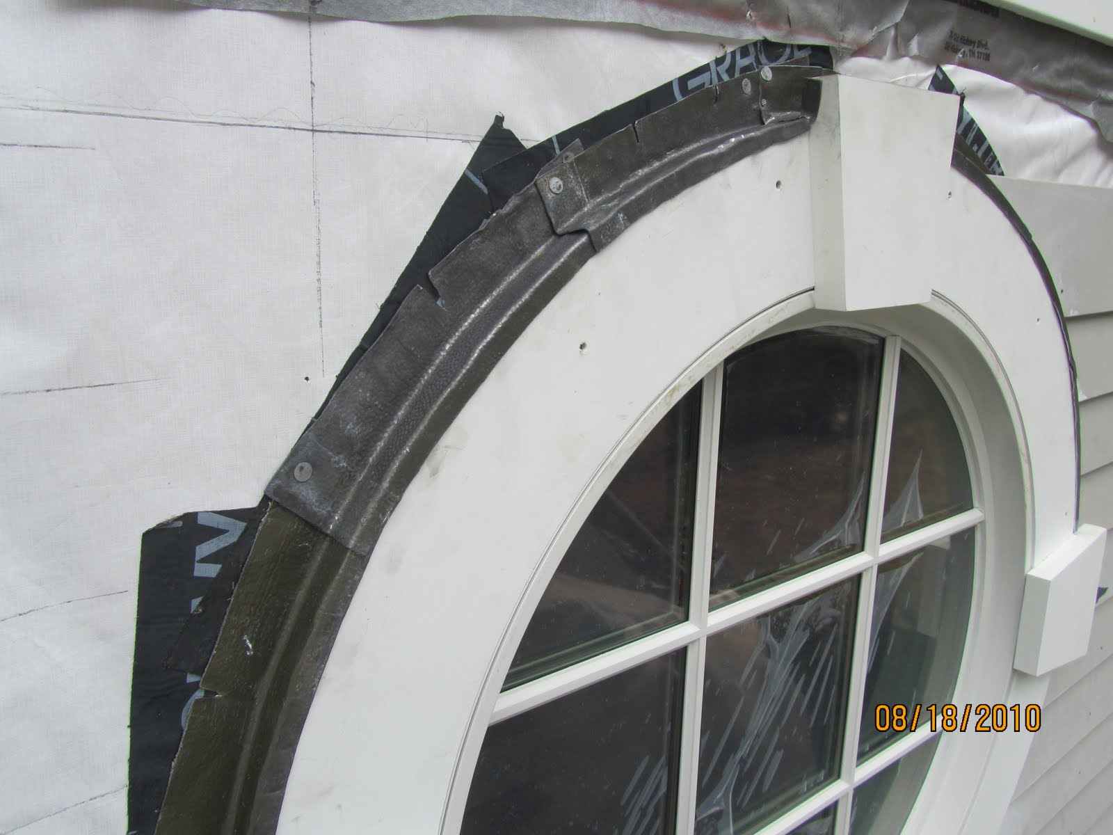 How To Flash A Circle Window A Concord Carpenter