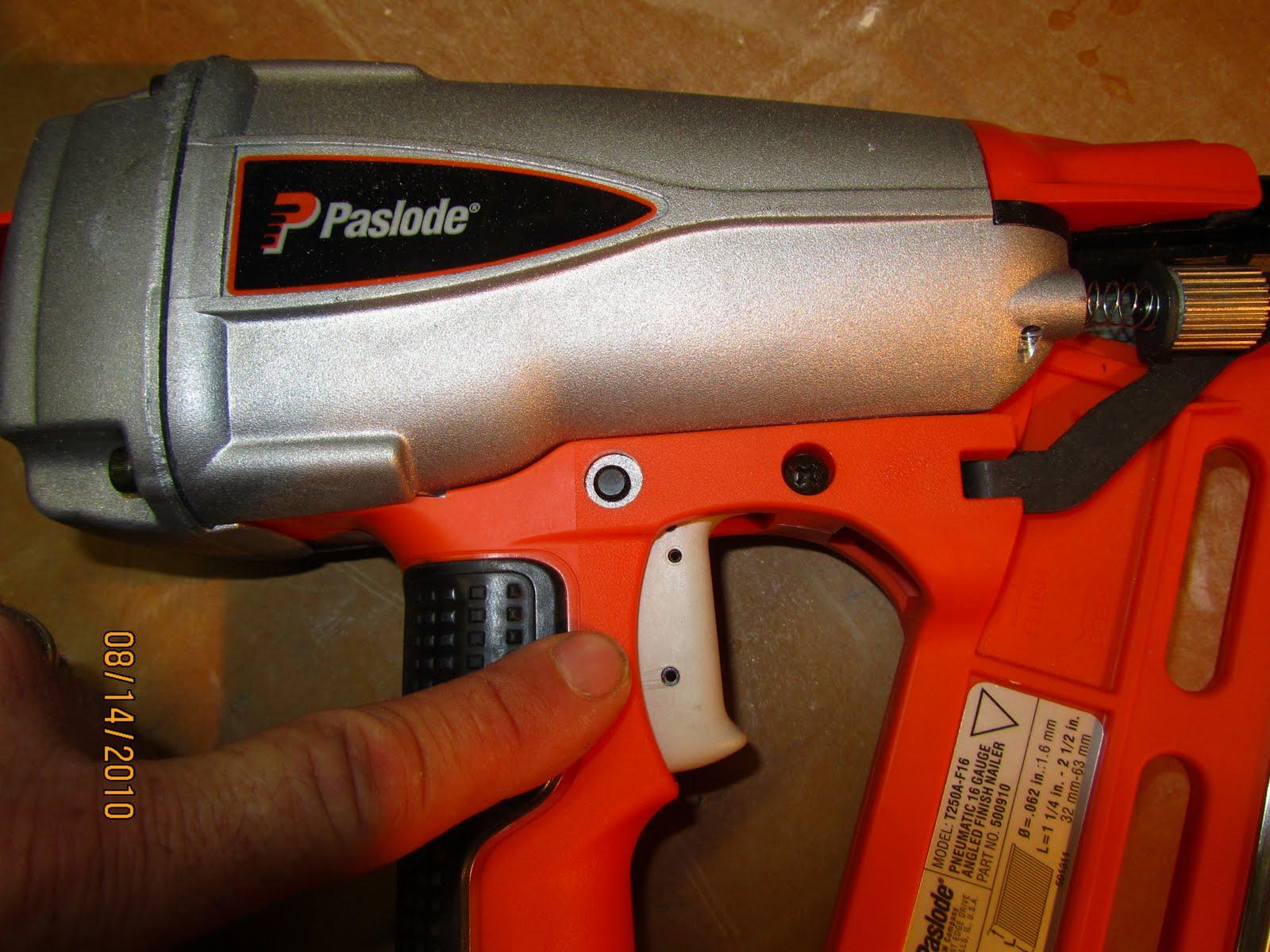 Paslode T250A 16 Gauge Finish Nailer - A Concord Carpenter