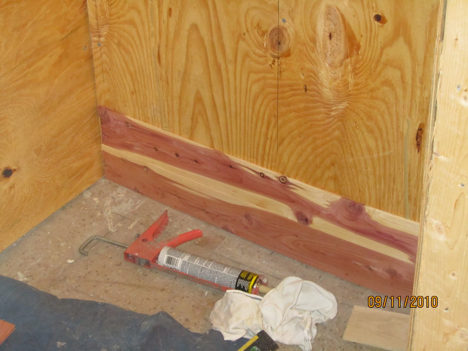 Charmant How To Install Aromatic Cedar In A Closet