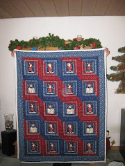 Weihnachtsquilt   -   Christmas Quilt