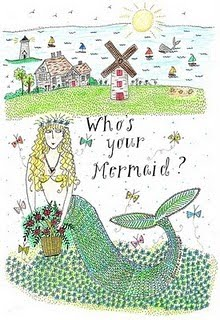 Featured Artist. Jeanne van Etten of The Nantucket Mermaid, on Nantucket and Etsy
