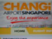 Imformation of Airport Singapore