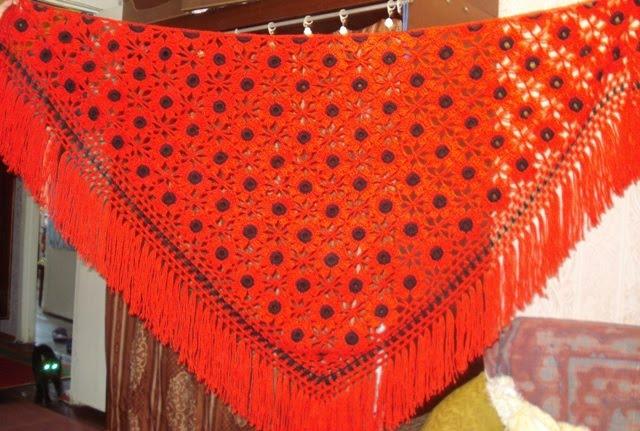 Вязание шалей со светланой берсановой 60