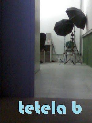 sala de fotografia desmontada